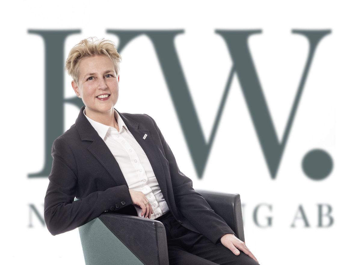 Karin Wetterstrand styr upp för framgång